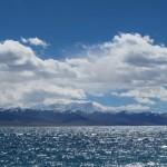 Lacul Namtso cu apa sarata