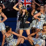 Australian singer Kylie Minogue performs