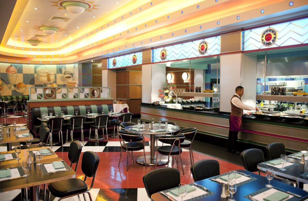 Hotel New York diner