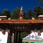 Palatul de vara Lhasa_ intrarea